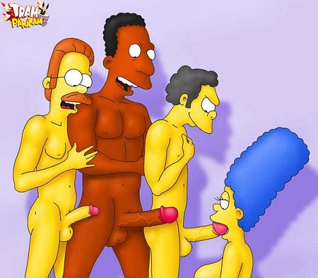 AdultComicsXXXToons - Marge is such a slut!