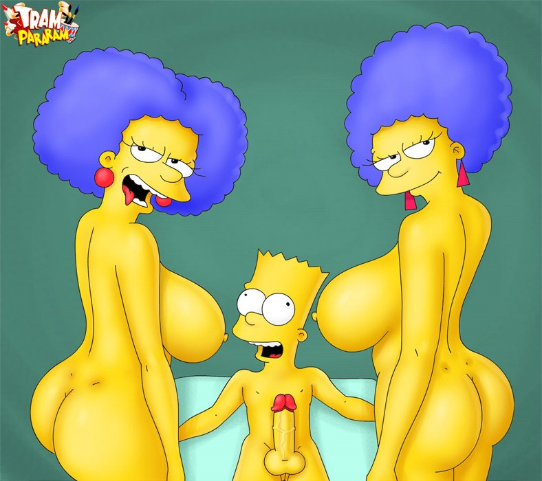 well, this is baaaaddddd! these two mature sluts were at homers house to ...